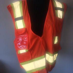 Safety Vest orange size large